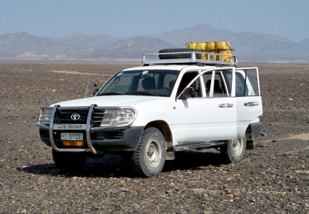 4x4 car hire Ethiopia